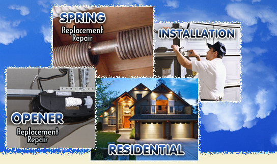 Cornelius NC Garage Doors  Residential, Spring, Opener and Installation Services